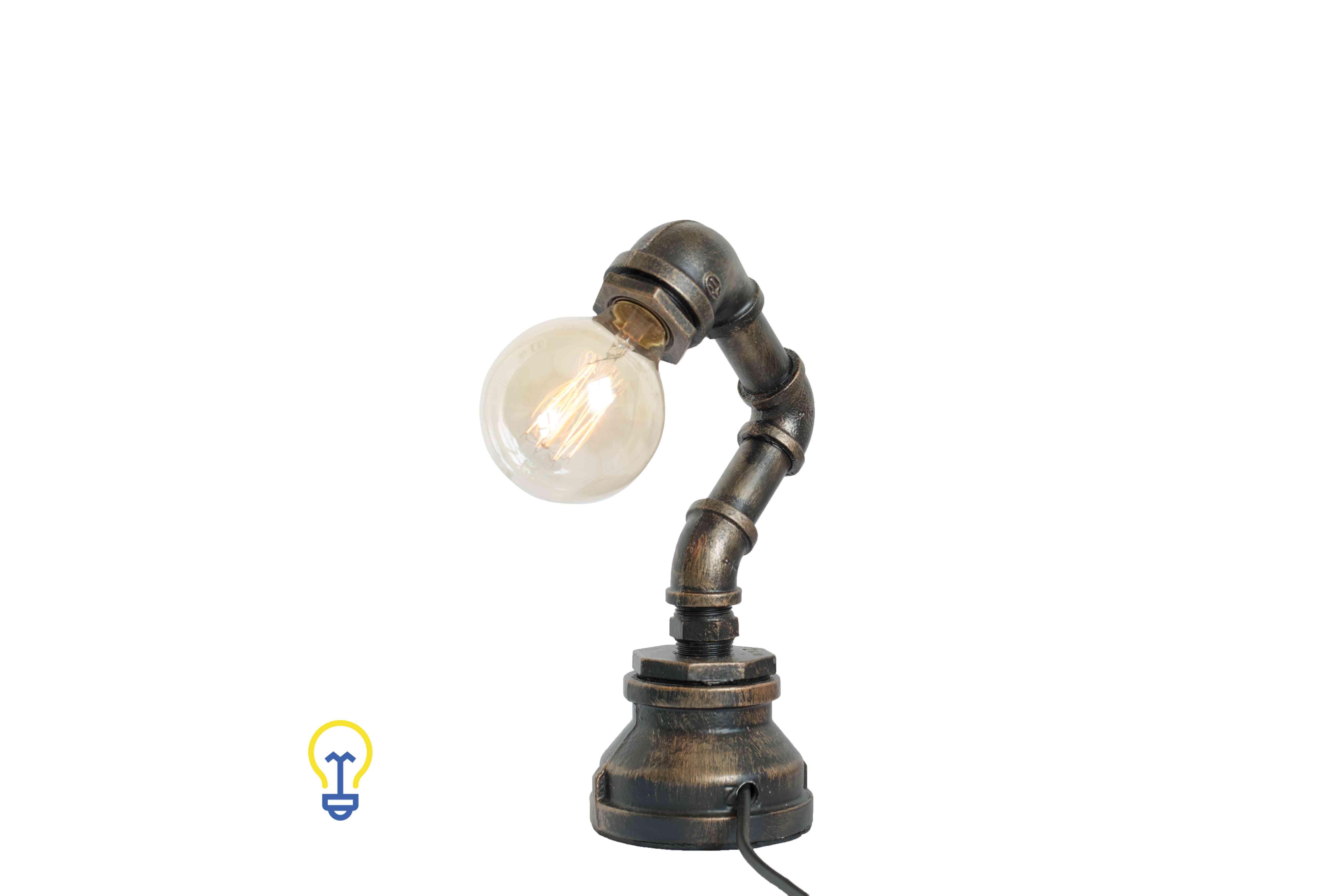 Industriële waterleiding tafellamp bureaulamp lamponderdelen