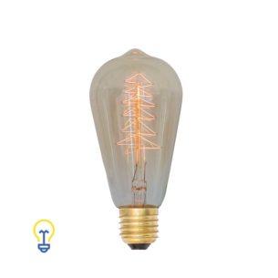 Kooldraadlamp Vintage Filament Bulb Gloeidraad E27 Grote Fitting Edison