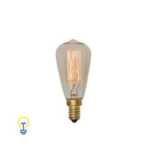 Kooldraadlamp Filament Bulb Gloeidraad E14 Kleine Fitting Edison