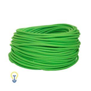 Groen Snoer | Elektriciteitssnoer | Strijkijzersnoer | 2 x 0.75 mm2 | De grootste online webwinkel voor alle creatieve strijkijzersnoeren.