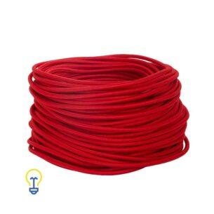 Rood Snoer | Elektriciteitssnoer | Strijkijzersnoer | 2 x 0.75 mm2 | De grootste online webwinkel voor alle creatieve strijkijzersnoeren.