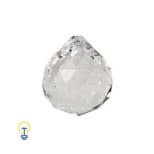 Kristallen Bol Voor Kroonluchters | Facet Geslepen Bal Hanger. Kristallen en glazen onderdelen voor kroonluchters. Glazen bal.
